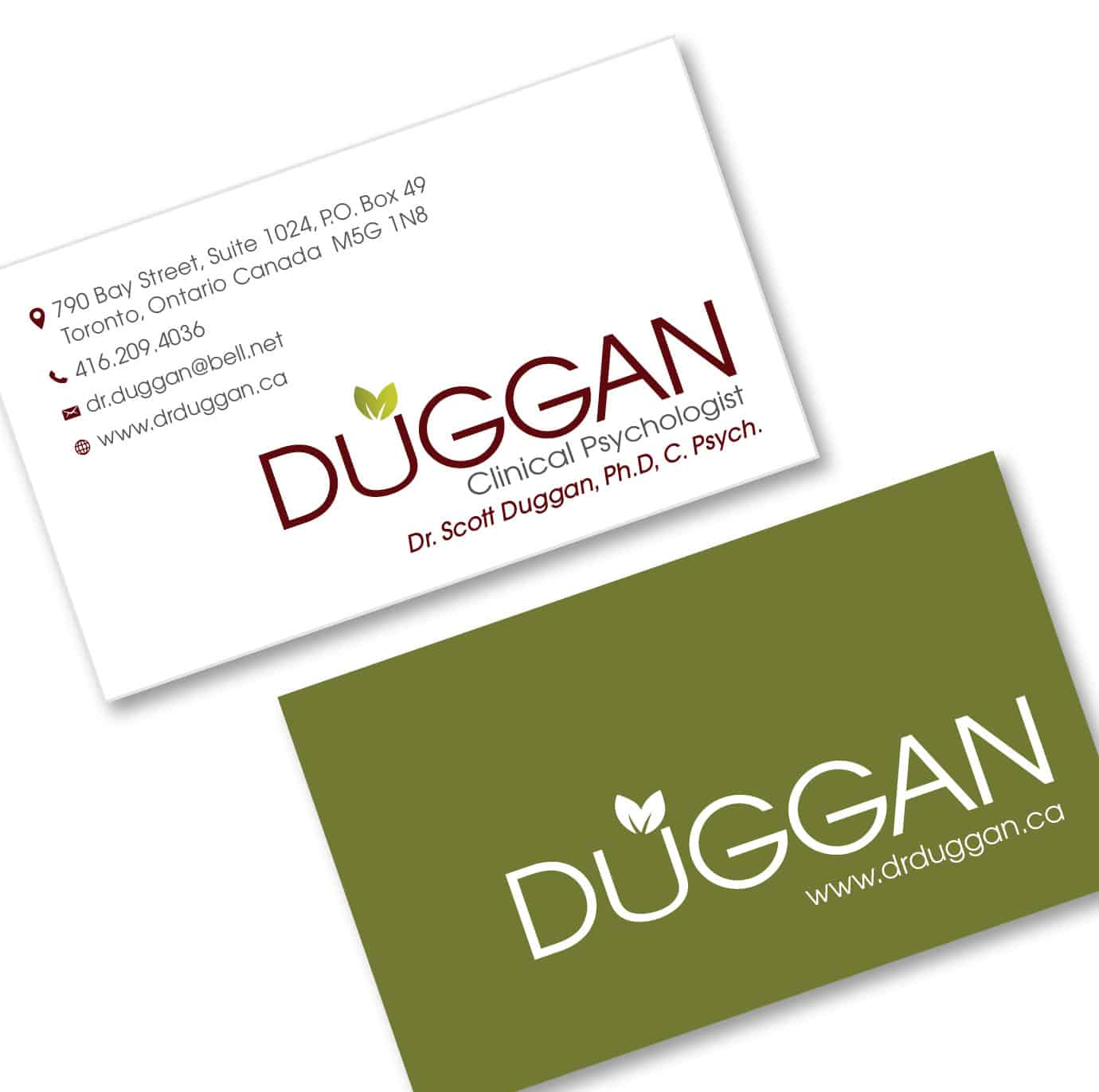 Dr. Duggan, Clinical Psychologist